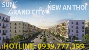 Cập nhật quỹ căn GT chẵn mặt tiền đường 60m - Sun Grand City New An Thới 2
