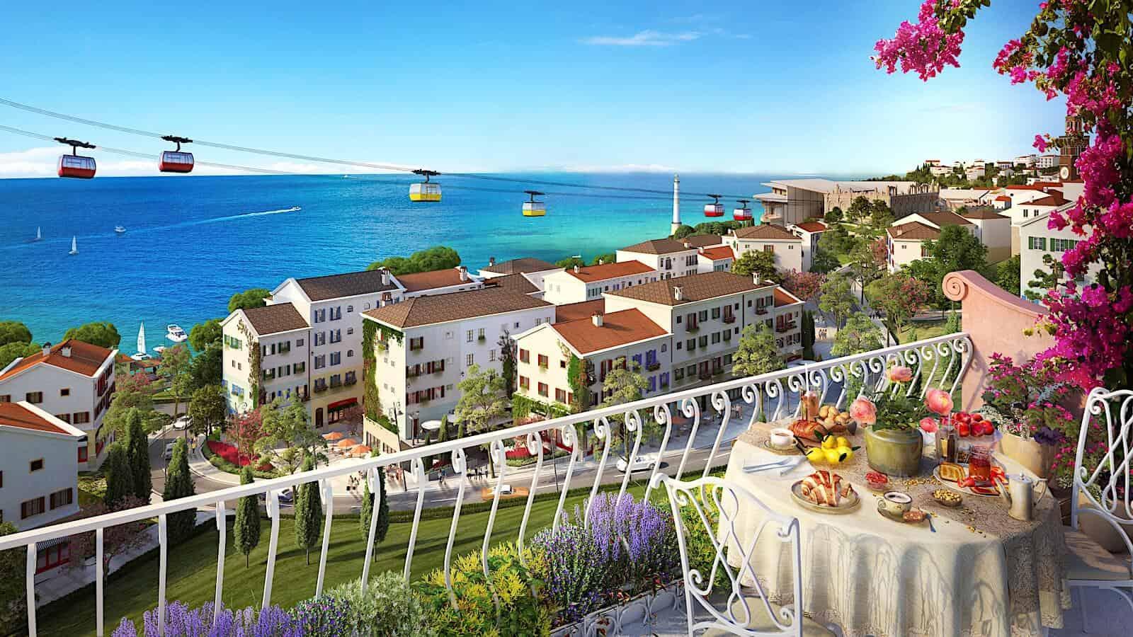 Hill Side Địa Trung Hải Sun Group Phú Quốc