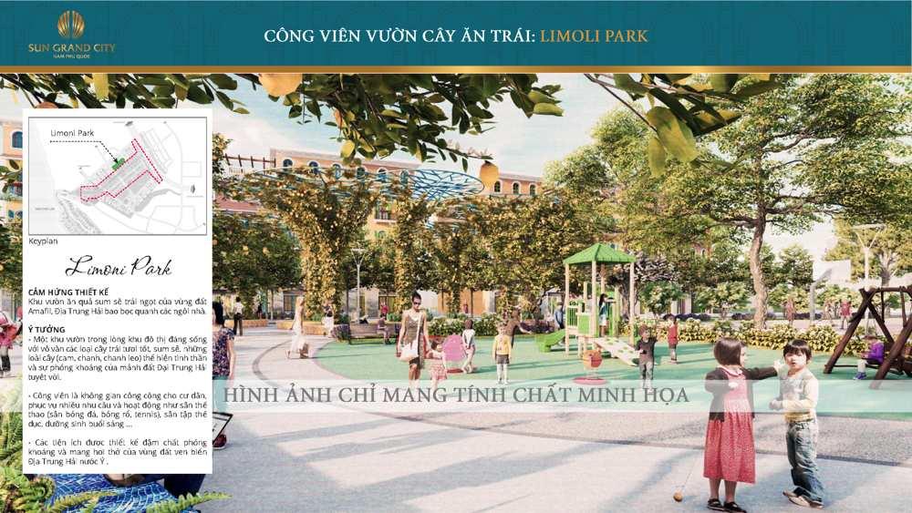 công viên limoni Sun Grand City New An Thới-01