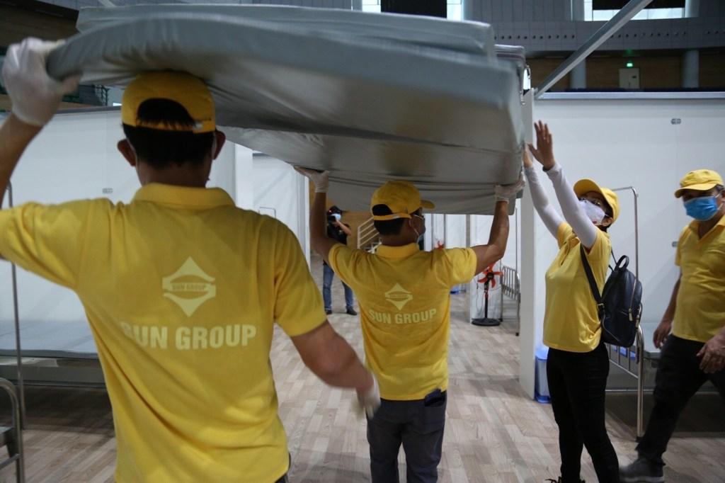 Sun group tài trợ bệnh viện dã chiến Đà Nẵng