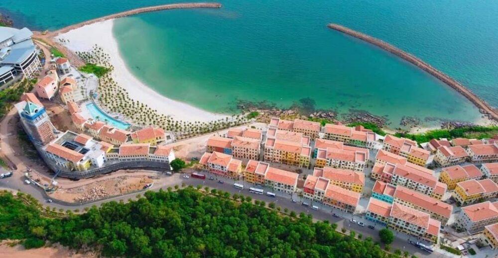 View toàn cảnh căn hộ Hill Side Địa Trung Hải