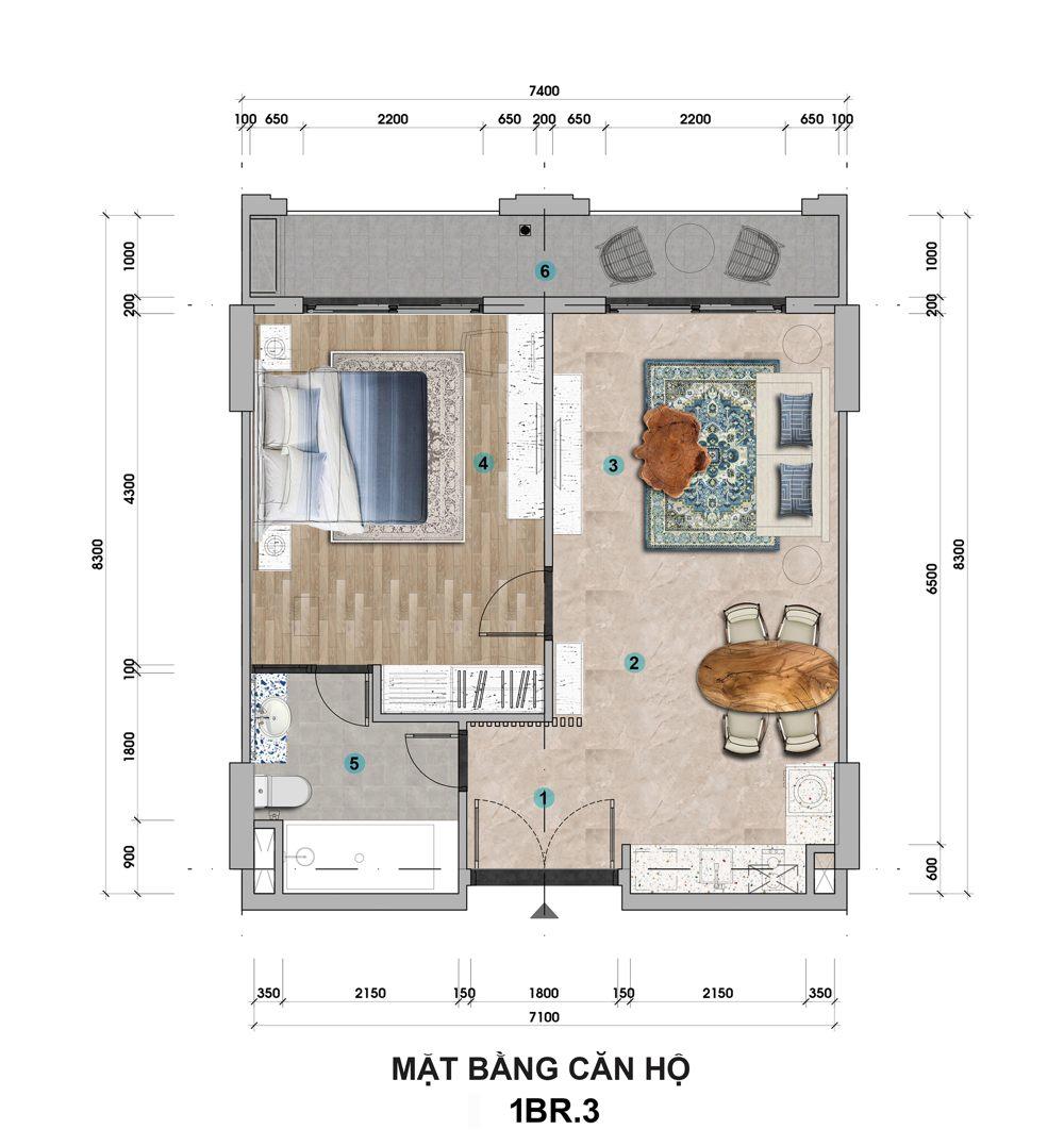 Sun Grand City Hillside Residence - Dự án Căn hộ Hillside Địa Trung Hải sườn đồi view biển - Sun Group Phú Quốc 27