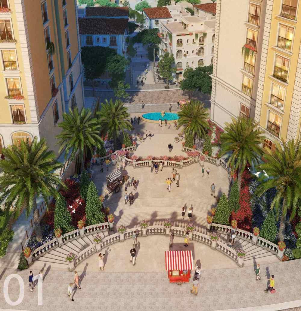 Sun Grand City Hillside Residence - Dự án Căn hộ Hillside Địa Trung Hải sườn đồi view biển - Sun Group Phú Quốc 18