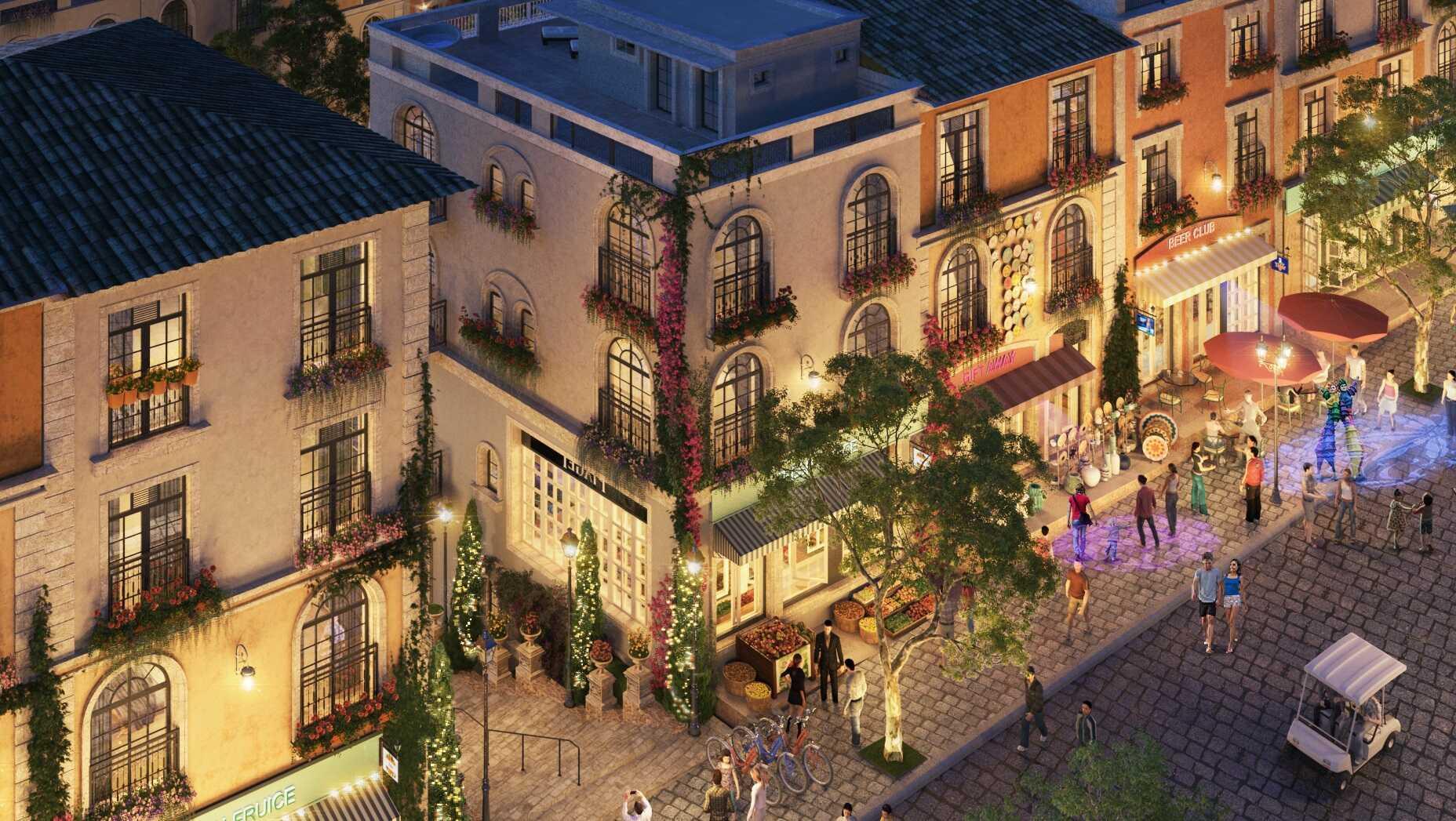 Shophouse The Center Hillside - Đỉnh cao kiêu hãnh, kiệt tác vươn mình !!! 6