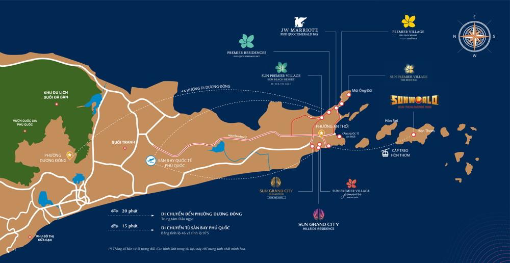 vị trí Shophouse The Center Địa Trung Hải
