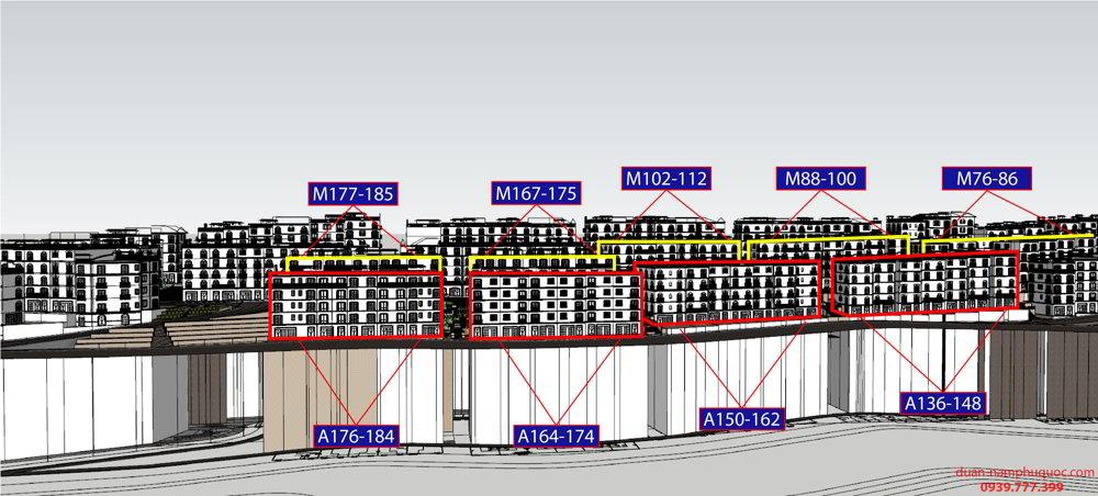 Ama 134-184 Shophouse The Center Phú Quốc