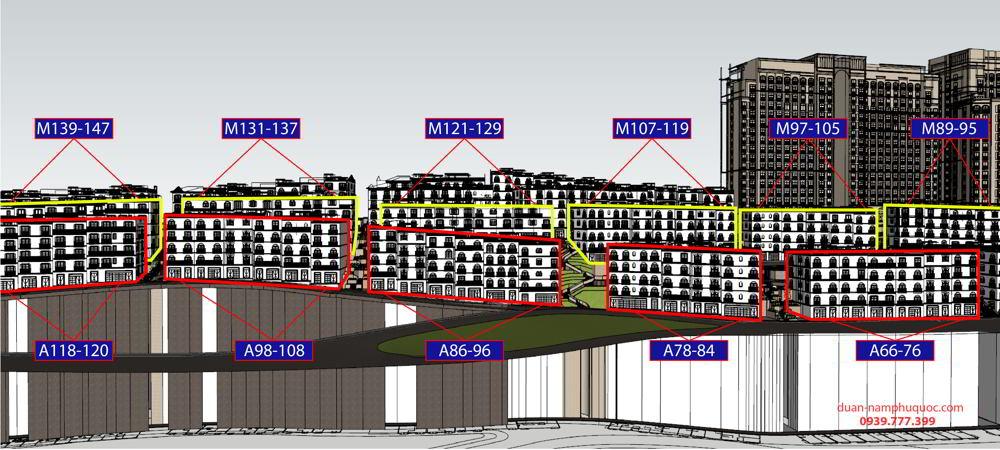 Ama 66-116 Shophouse The Center Phú Quốc