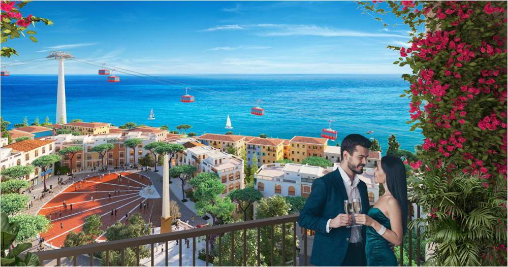 Cập nhật tiến độ xây dựng thị trấn Địa Trung Hải 1/8/2021 2