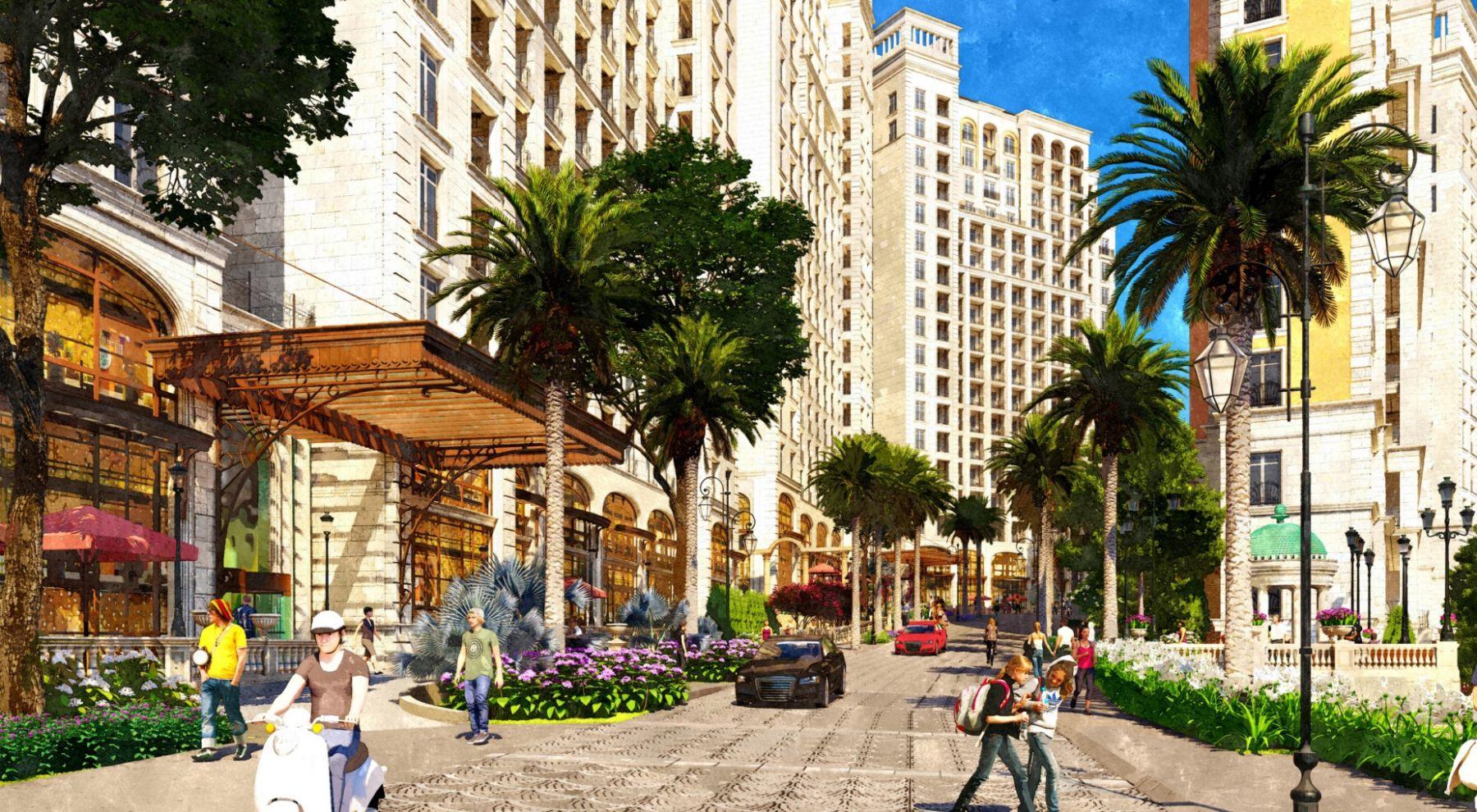 Sun Grand City Hillside Residence - Dự án Căn hộ Hillside Địa Trung Hải sườn đồi view biển - Sun Group Phú Quốc 16