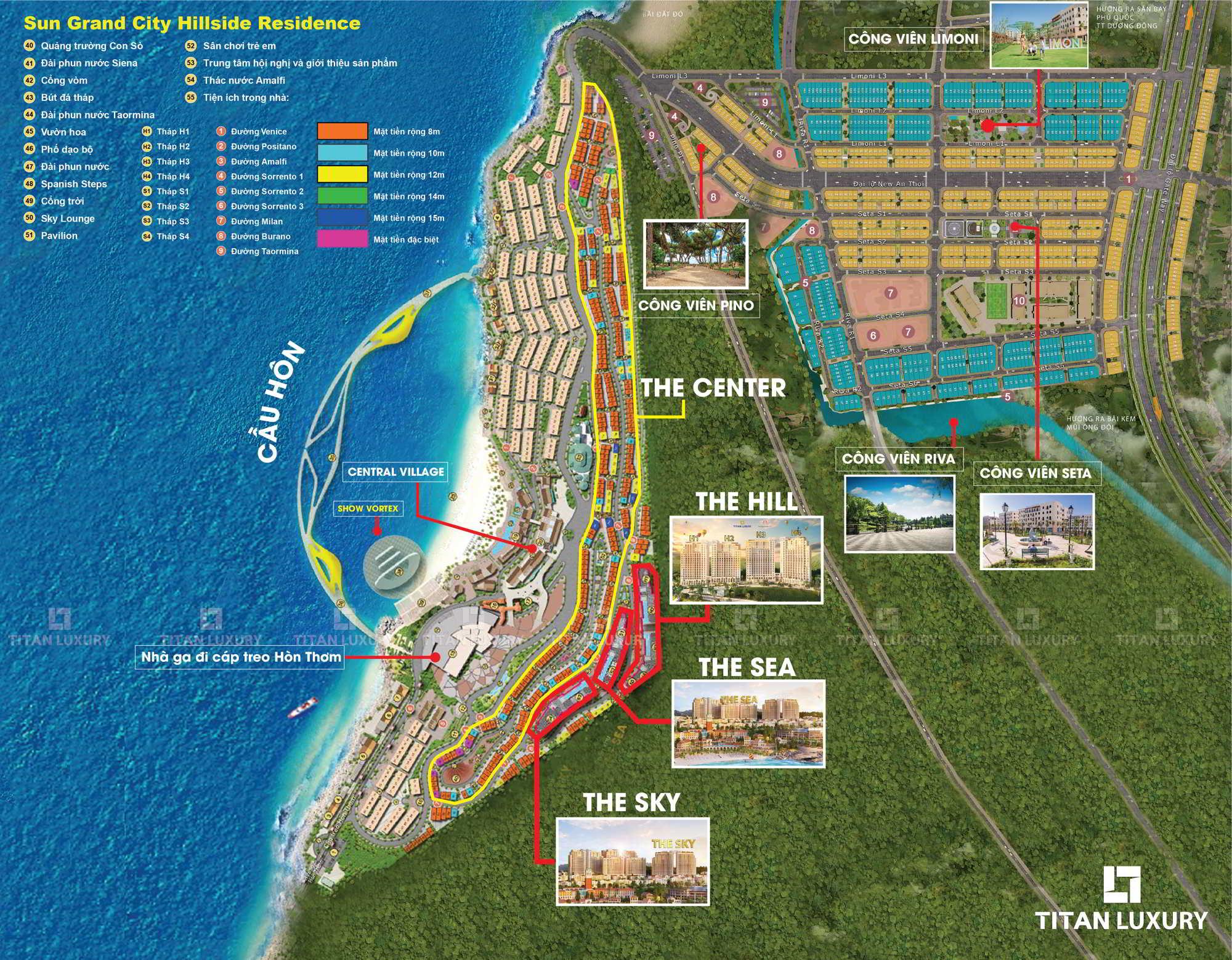 Mặt bằng chung Địa Trung Hải - The Center - New An Thới