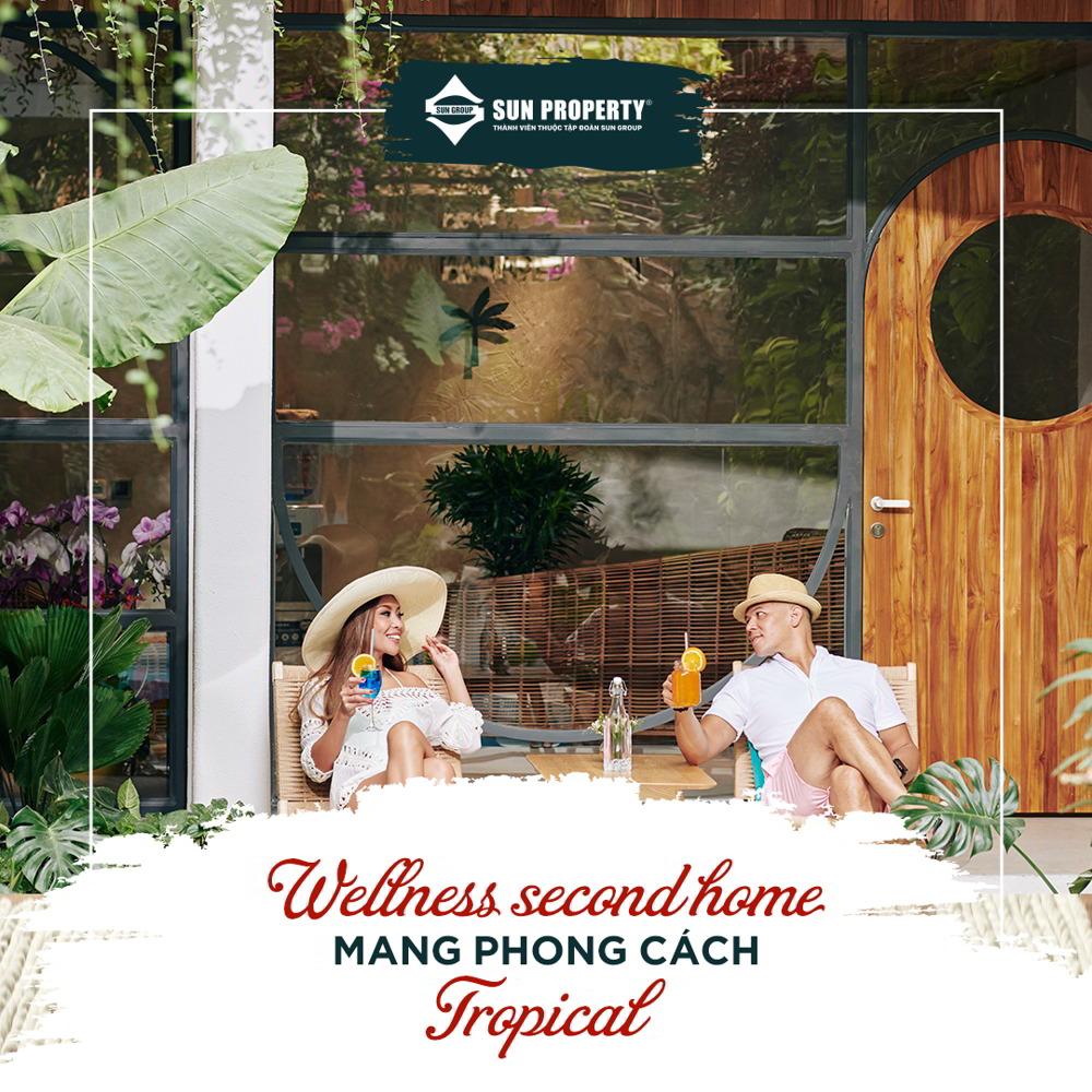 wellness second home phong cách tropical