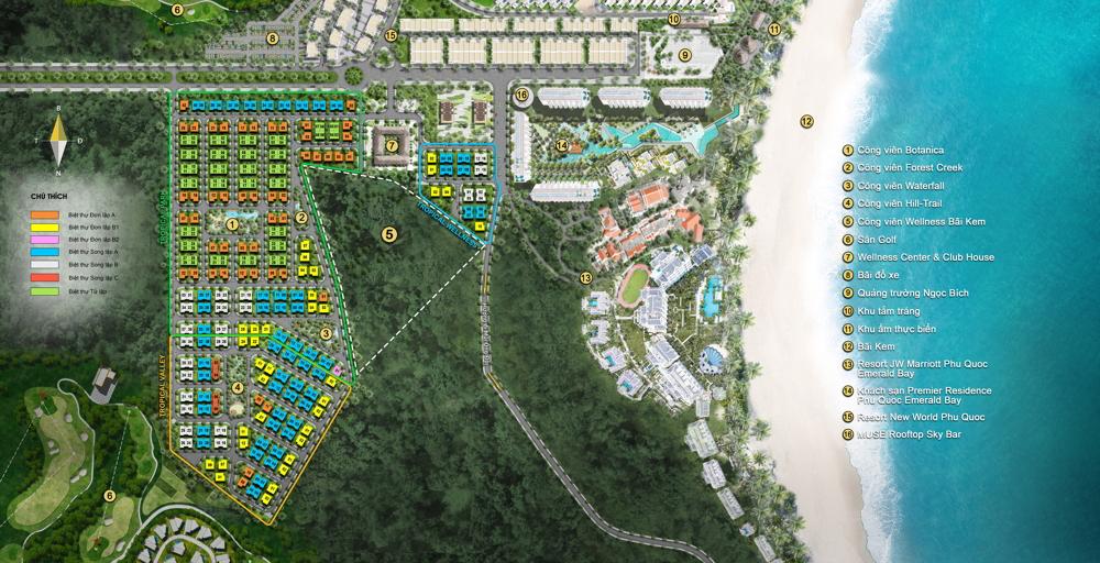Sun Tropical Village - Biệt thự Wellness làng nhiệt đới bãi Kem - Mở bán t9/2021 13