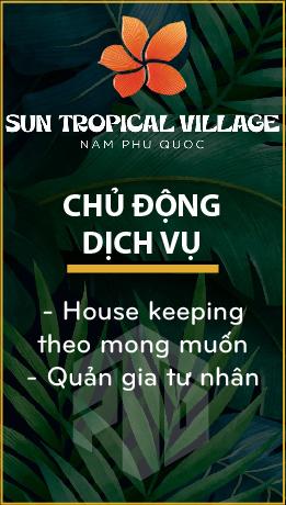 Sun Tropical Village - Biệt thự Wellness làng nhiệt đới bãi Kem - Mở bán t9/2021 20