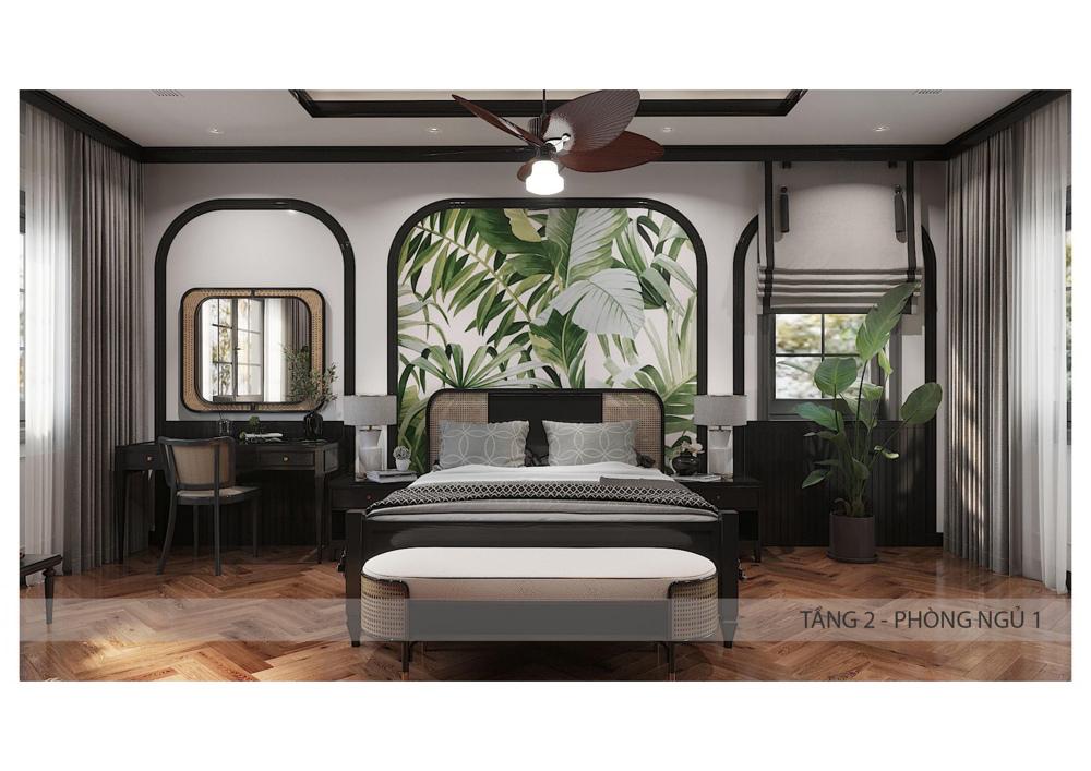 Mẫu nội thất biệt thự song lập Sun Tropical Village Phú Quốc 17